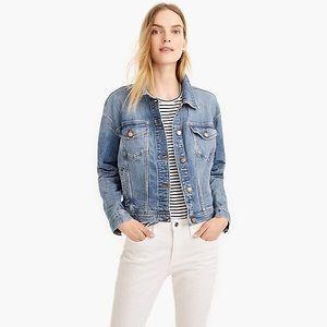 🆕 J. CREW Eco Denim Jacket